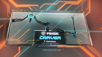 Yvolution Fliker Carver TV Spot, 'New and Now' - Thumbnail 10