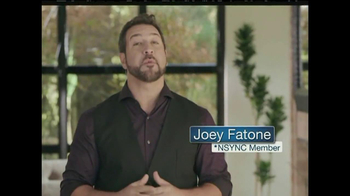 Bosley TV Spot Featuring Joey Fatone