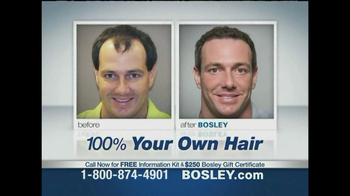 Bosley TV Spot Featuring Joey Fatone - Thumbnail 4