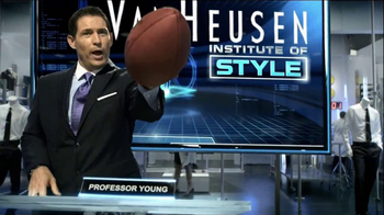 Van Heusen TV Spot  Featuring Steve Young, Jerry Rice