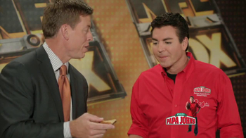 Papa John's Mega Chocolate Chip Cookie TV Spot Featuring Troy Aikman - Thumbnail 10