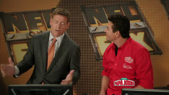 Papa John's Mega Chocolate Chip Cookie TV Spot Featuring Troy Aikman - Thumbnail 2