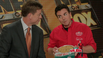 Papa John's Mega Chocolate Chip Cookie TV Spot Featuring Troy Aikman