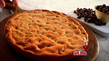Papa John's Mega Chocolate Chip Cookie TV Spot Featuring Troy Aikman - Thumbnail 5