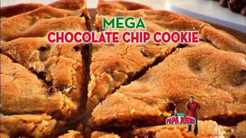 Papa John's Mega Chocolate Chip Cookie TV Spot Featuring Troy Aikman - Thumbnail 6
