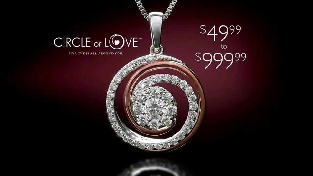 Helzberg diamonds circle of love pendant tv spot ispot aloadofball Choice Image