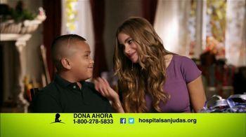 St. Jude Children's Research Hospital TV Spot Con Sofia Vergara [Spanish] - 33 commercial airings