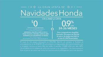 La Gran Venta de Navidades Honda TV Spot, 'Nieve'[Spanish] - Thumbnail 9