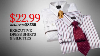 JoS. A. Bank TV Spot, 'Cyber Monday 2013 Shirts, Suits' - 166 commercial airings