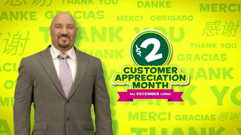 Subway Customer Appreciation Month TV Spot Feat. Jared Fogle, Apolo Ohno - Thumbnail 10
