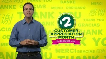 Subway Customer Appreciation Month TV Spot Feat. Jared Fogle, Apolo Ohno - Thumbnail 2