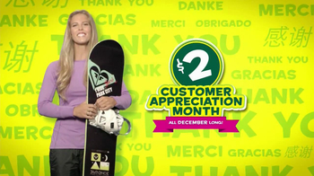 Subway Customer Appreciation Month TV Spot Feat. Jared Fogle, Apolo Ohno - Thumbnail 3