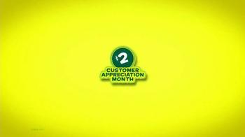 Subway Customer Appreciation Month TV Spot - Thumbnail 1