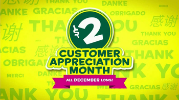 Subway Customer Appreciation Month TV Spot - Thumbnail 2