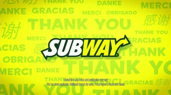 Subway Customer Appreciation Month TV Spot - Thumbnail 3