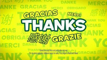 Subway Customer Appreciation Month TV Spot - Thumbnail 4