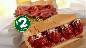 Subway Customer Appreciation Month TV Spot - Thumbnail 7