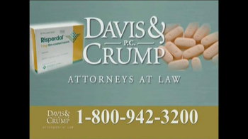Davis & Crump, P.C. TV Spot, 'Risperdal' - Thumbnail 9