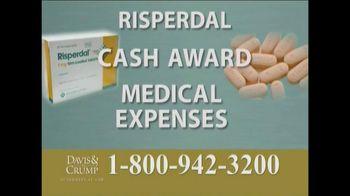 Davis & Crump, P.C. TV Spot, 'Risperdal'