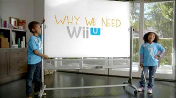 Nintendo Wii U TV Spot, 'Presentation' - Thumbnail 1