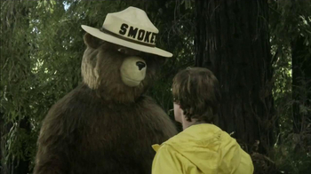Smokey Bear Campaign TV Spot, 'Bonfire' - Thumbnail 5