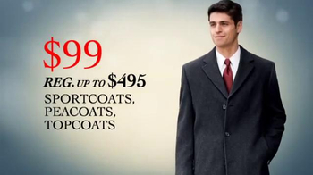 JoS. A. Bank TV Spot 'Black Friday 2013: Sportcoats' - 214 commercial airings