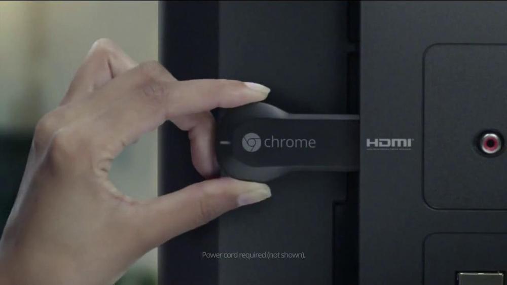 Google Chromecast TV Commercial, 'For Bigger Hits' - Video