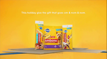 Pedigree Jumbone TV Spot, 'The Gift That Goes Om & Nom' - Thumbnail 10