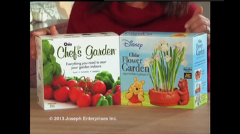 Chia Pet Chef's Garden and Chia Flower Garden TV Spot - Thumbnail 2