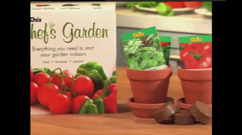 Chia Pet Chef's Garden and Chia Flower Garden TV Spot - Thumbnail 3