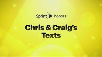 Sprint TV Spot, 'Chris & Craig' Ft. Malcom McDowell, James Earl Jones