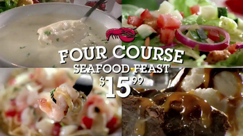 Red Lobster Four Course Seafood Feast TV Spot - Thumbnail 8