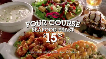 Red Lobster Four Course Seafood Feast TV Spot - Thumbnail 3