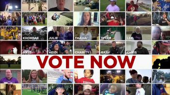 NFL TV Spot, '10 Finalists' - 58 commercial airings