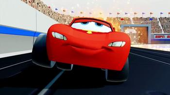 Disney Infinity TV Spot, 'Lightning McQueen vs. Dash' - Thumbnail 4