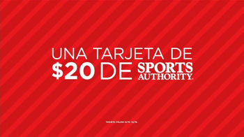 Sports Authority TV Spot, 'Desconectar' [Spanish] - Thumbnail 7