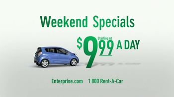 Enterprise Weekend Specials TV Spot, Song by Rusted Root - Thumbnail 4
