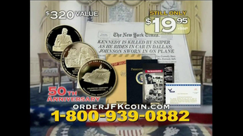 American Coin Registry TV Spot, 'JFK Coin' - Thumbnail 10