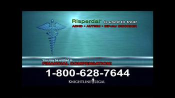 Knightline Legal TV Spot, 'Risperdal' - Thumbnail 5