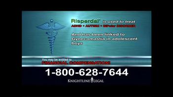 Knightline Legal TV Spot, 'Risperdal' - Thumbnail 6