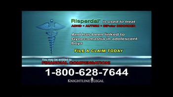 Knightline Legal TV Spot, 'Risperdal' - Thumbnail 7