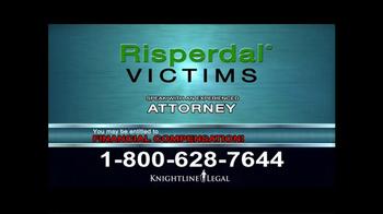 Knightline Legal TV Spot, 'Risperdal' - Thumbnail 9