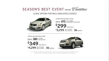 Cadillac Season's Best Event TV Spot - Thumbnail 9