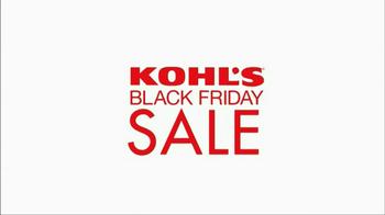 Kohl's Black Friday TV Spot, 'Over 500 Deals' - Thumbnail 1