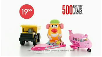Kohl's Black Friday TV Spot, 'Over 500 Deals' - Thumbnail 3