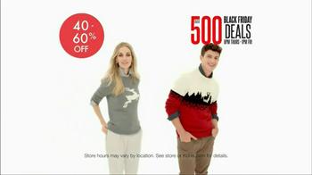 Kohl's Black Friday TV Spot, 'Over 500 Deals' - Thumbnail 4