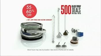 Kohl's Black Friday TV Spot, 'Over 500 Deals' - Thumbnail 6