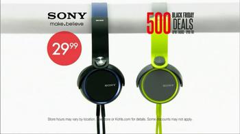Kohl's Black Friday TV Spot, 'Over 500 Deals' - Thumbnail 8
