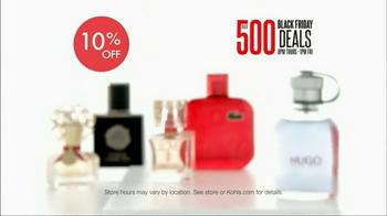 Kohl's Black Friday TV Spot, 'Over 500 Deals' - Thumbnail 9