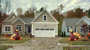 Walmart Black Friday TV Spot, 'Blow-Up Turkeys' - 264 commercial airings